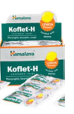 Himalaya Koflet-h Lozenges Lemon Pack Of 6