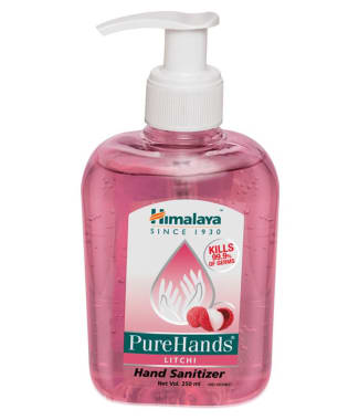 Himalaya Wellness Pure Hands Sanitizer Litchi