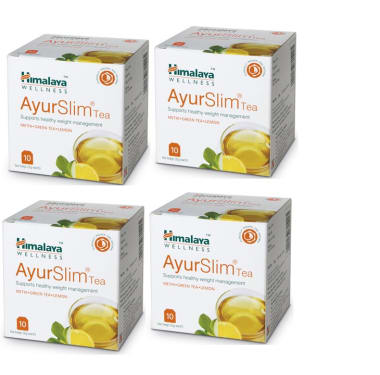 Himalaya Wellness Ayurslim Tea Pack Of 4