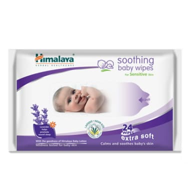 Himalaya Soothing Baby Wipes Pack Of 2