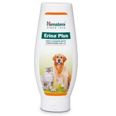 Himalaya Erina Plus Coat Cleanser With Conditioner