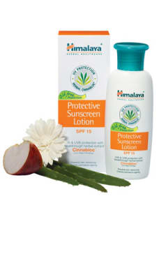 Himalaya Protective Sunscreen Spf 15 Lotion