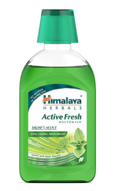 Himalaya Active Fresh Mouth Wash Pack Of 2