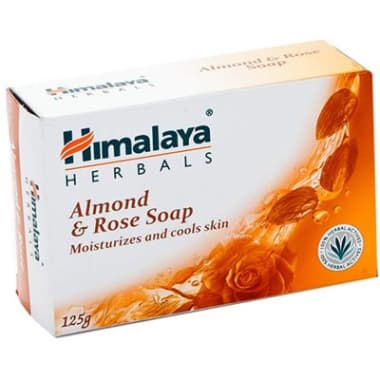 Himalaya Almond & Rose Soap Pack Of 3