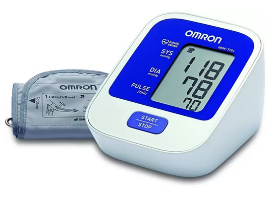 Omron Hem-7124-IN BP Monitor