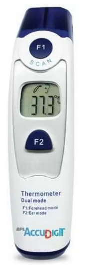 BPL Accu Digital Dual Mode Infrared Non Contact Digital Thermometer