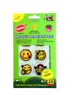 Runbugz Mosquito Repellent Printed Patches-Smiley