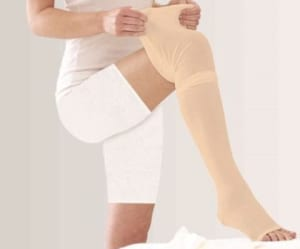 Tynor I-70 Medical Compression Stocking Mid Thigh Class 2 L