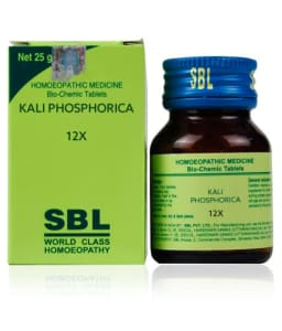 SBL Kali Phosphorica Biochemic Tablet 12X