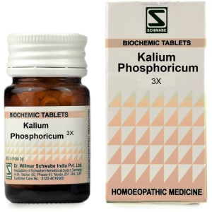 Dr Willmar Schwabe India Kalium Phosphoricum Biochemic Tablet 3X