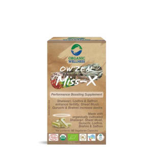 Organic Wellness OW'ZEAL Miss-X Capsule