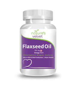 Natures Velvet Lifecare Flaxseed Oil 500mg Capsule