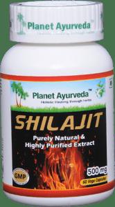 Planet Ayurveda Shilajit Capsule