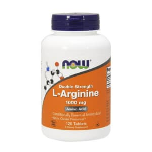 NOW Foods L-Arginine 1000mg Capsule