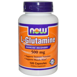 NOW Foods L-Glutamine 500mg Capsule