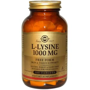 Solgar L-Lysine 1000mg Tablet