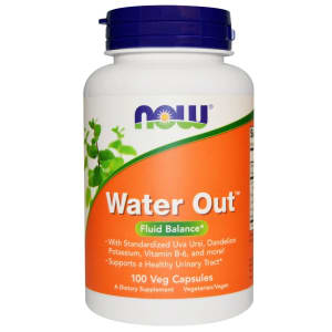 NOW Foods Water Out Veg Capsule