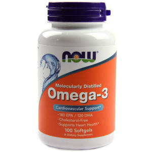 NOW Foods Omega-3 Softgels