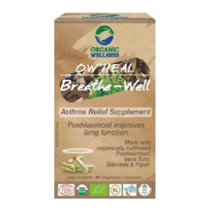 Organic Wellness OW'HEAL Breathe-Well Capsule