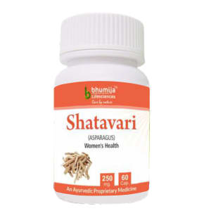 Bhumija Lifesciences Shatavari 250mg Capsule