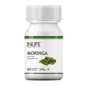 Inlife Moringa Leaf Extract 500mg Capsule