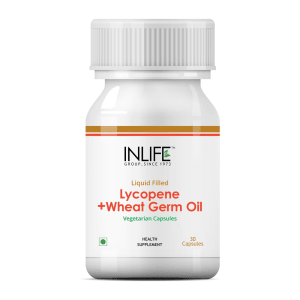 Inlife Lycopene with Wheat Germ Oil Capsule