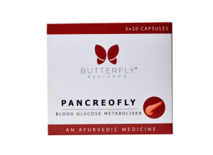 Butterfly Ayurveda Pancreofly Capsule