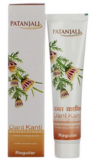 Patanjali Ayurveda Dant Kanti Regular Dental Cream Pack of 2
