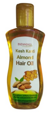 Patanjali Ayurveda Kesh Kanti Almond Hair Oil Pack of 2