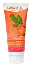 Patanjali Ayurveda Honey Orange Face Wash Pack of 3