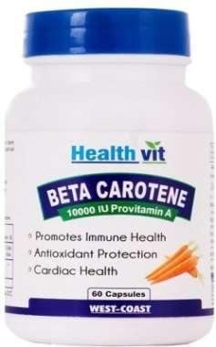 Healthvit Beta-carotene 10000 Iu Provitamin A Capsule