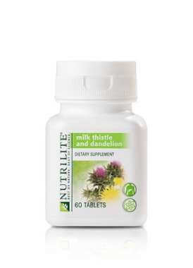Nutrilite Milk Thistle With Dandelion Tablet
