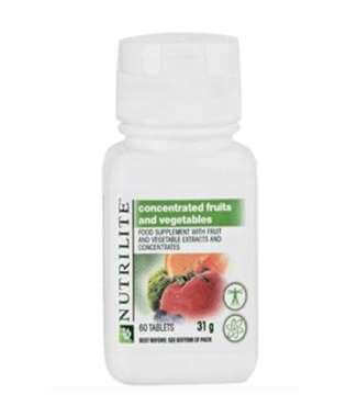 Nutrilite Concentrated Fruits And Vegetables Tablet