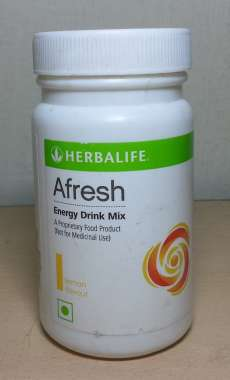 Herbalife Afresh Energy Drink Mix Powder Lemon