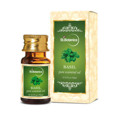 St.botanica Basil Pure Essential Oil
