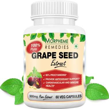 Morpheme Grape Seed Extract Capsule
