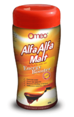 Omeo Alfa Alfa Malt Energy Booster