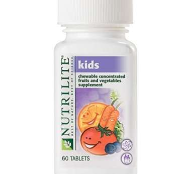 Nutrilite Kids Chewable Concentrated Fruits And Vegetables Tablet