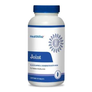 Healthviva Joint (glucosamine & Chondroitin With Msm) Tablet