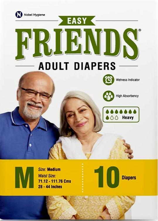 Friends Easy Adult Diaper (medium)