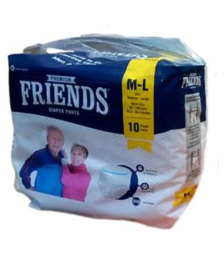 Friends Premium Pants Diaper (medium To Large)