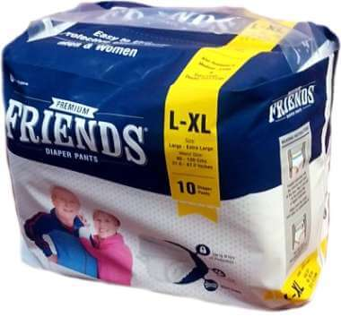 Friends Premium Pants Diaper (large To Xl)