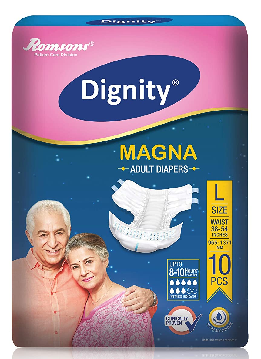 Dignity Adult Diaper (large)