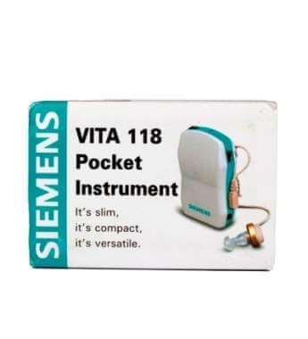 Siemens Vita 118 Hearing Aid