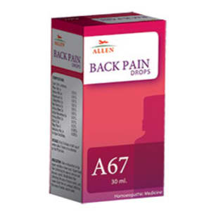 A67 Back Pain Drop