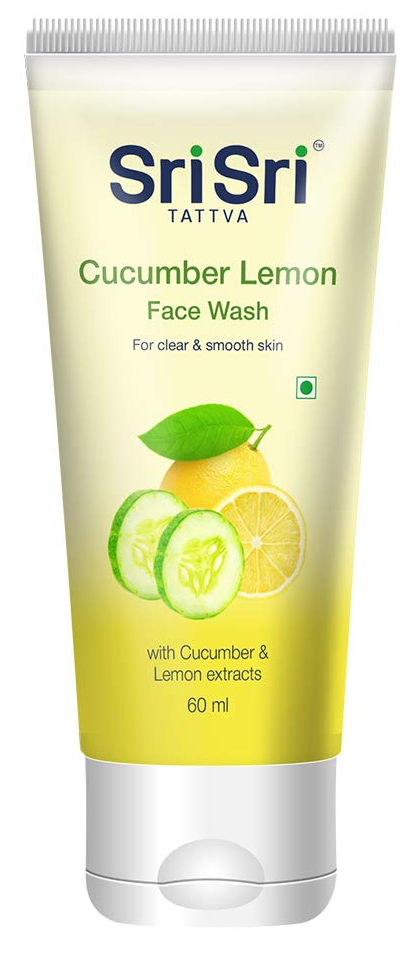 Sri Sri Ayurveda Cucumber & Lemon Face Wash