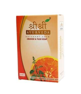 Sri Sri Ayurveda Orange & Tulasi Soap
