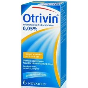 Otrivin O 0.05% Nasal Spray