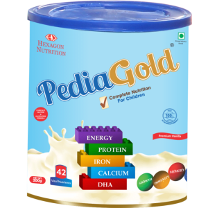 Pediagold Powder Vanilla