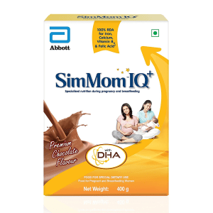 SimMom IQ Plus Powder Premium Chocolate